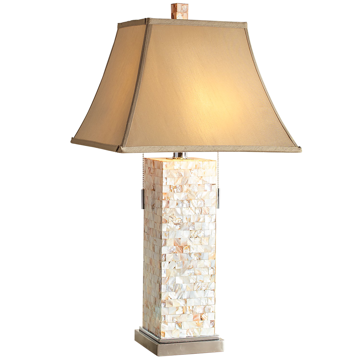 Mother-of-Pearl Table Lamp
