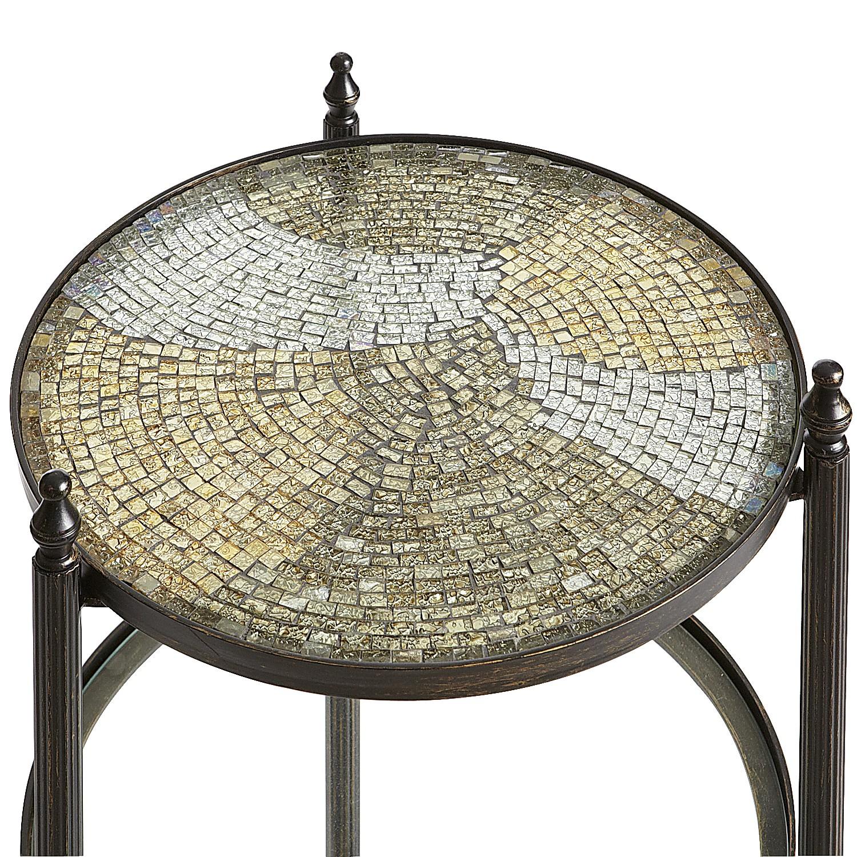Anamati Mosaic Glass Table