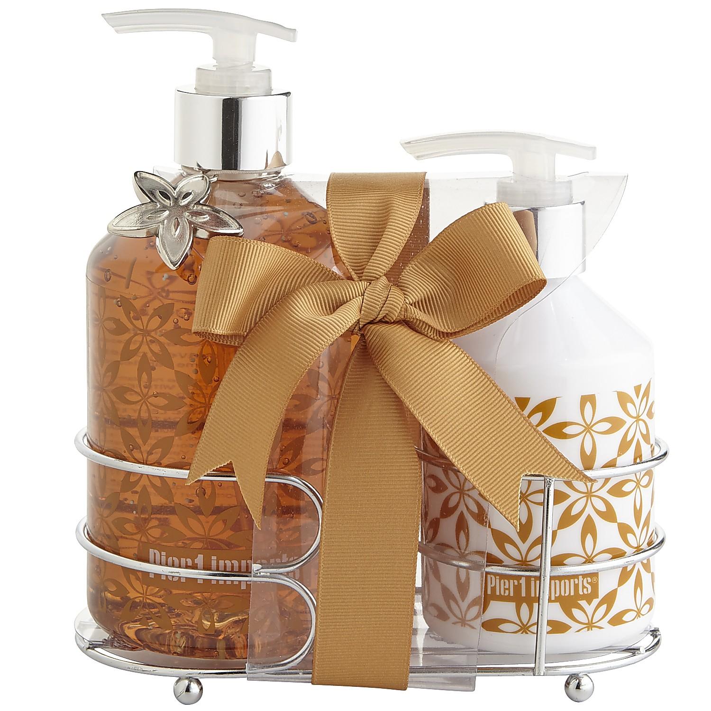 Vanilla Creme Soap & Lotion Caddy