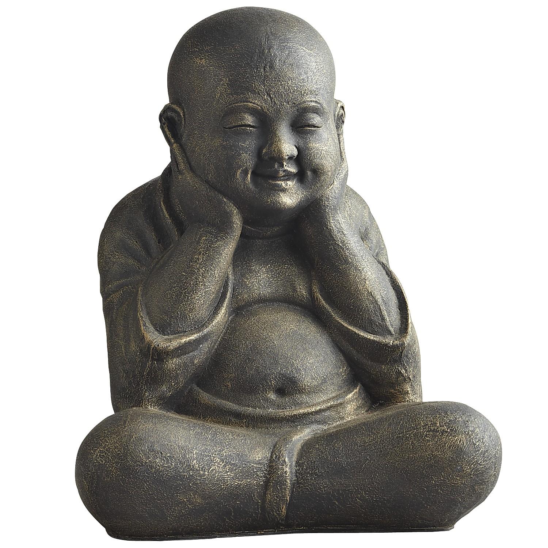 Sitting Garden Monk