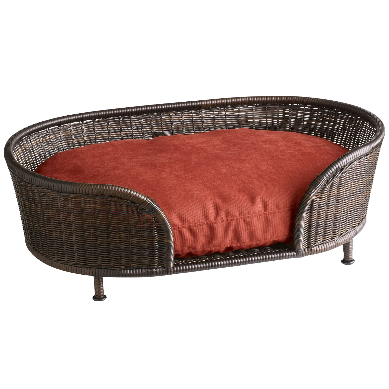 Coco Cove Small Mocha Dog Bed