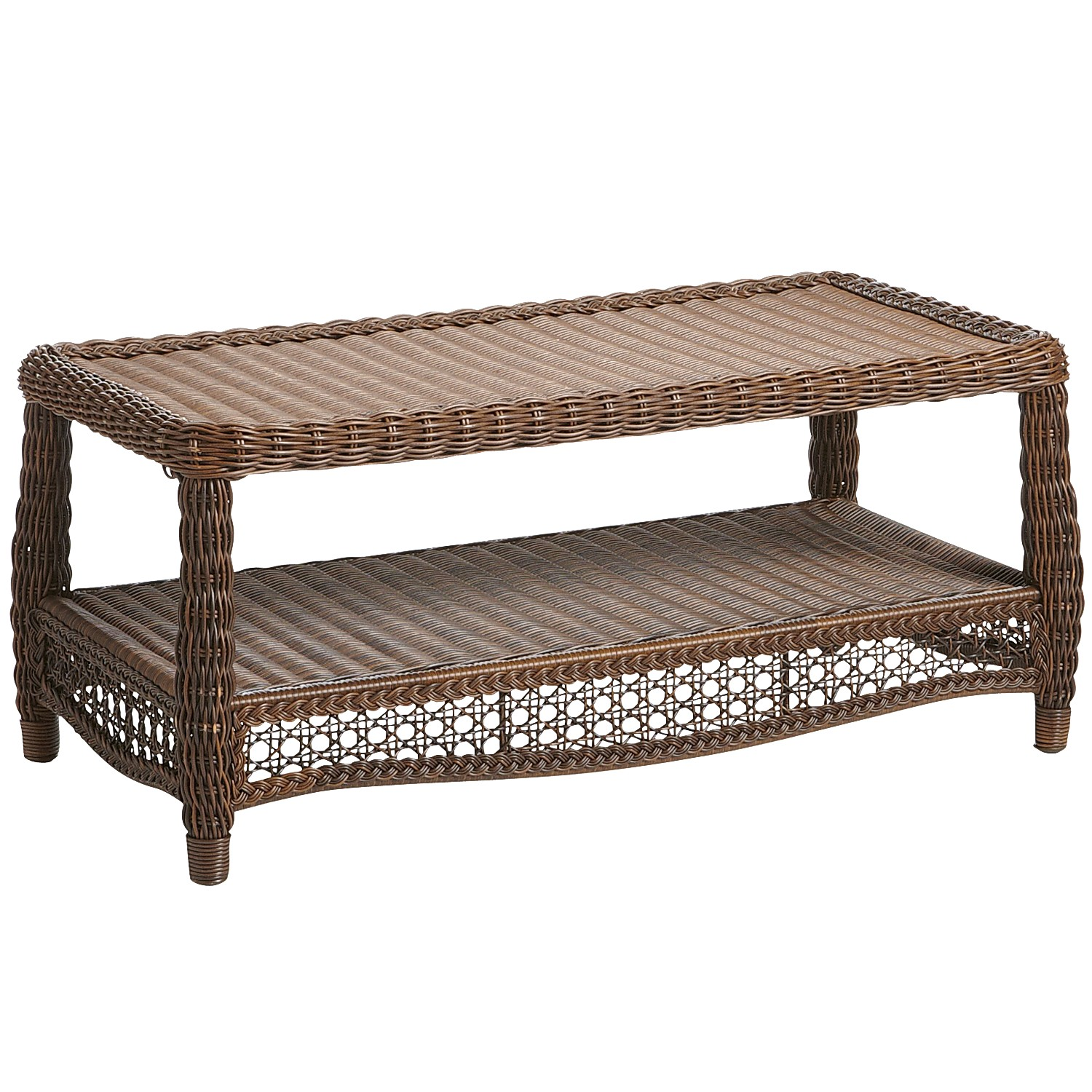 Sunset Pier Chestnut Brown Coffee Table