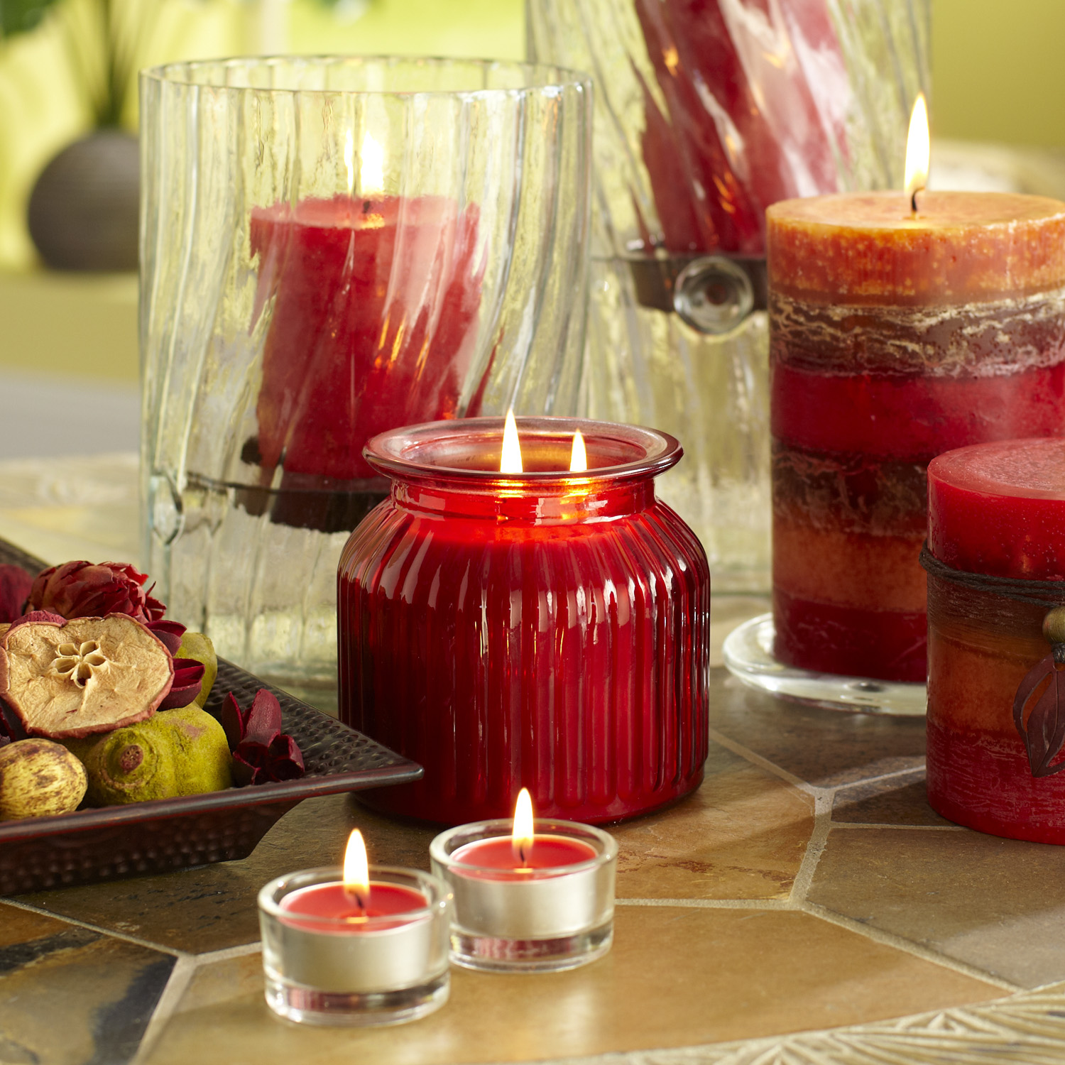 variation thumbnail of Island Orchard® Filled Candle