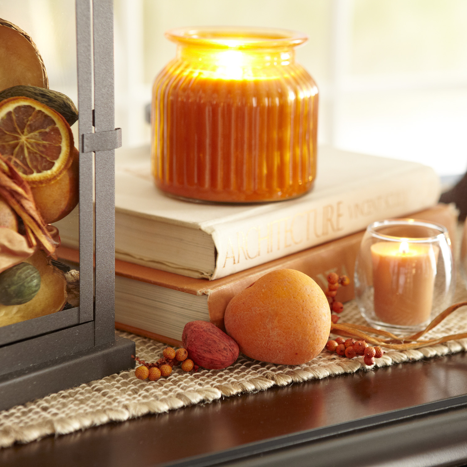 Ginger Peach® Filled Candle