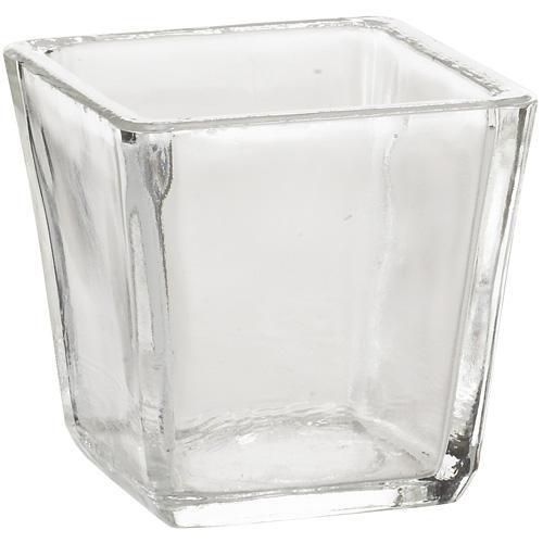 Trapezoid Glass Votive Holder