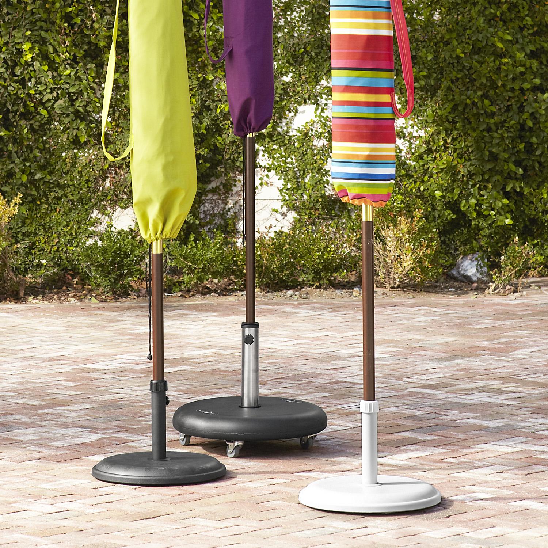 Umbrella Stand on Wheels