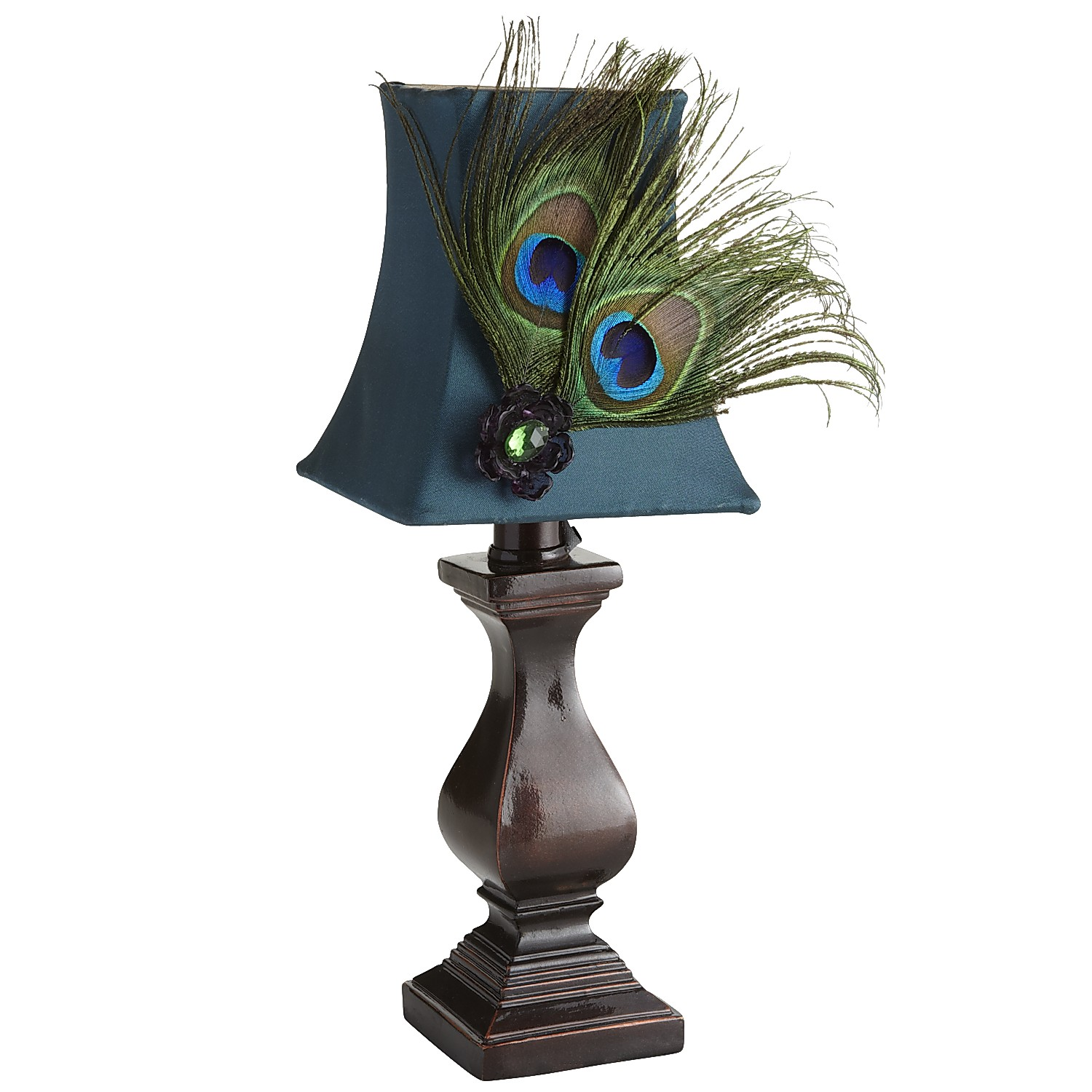 variation thumbnail of Peacock Feather Mini Lamp