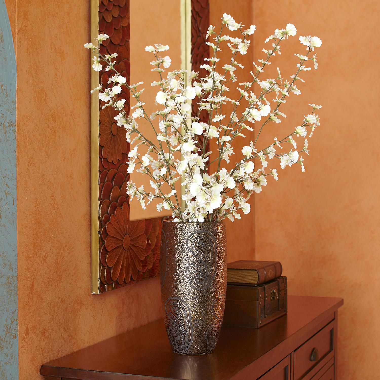 Faux Oncidium Orchid - White