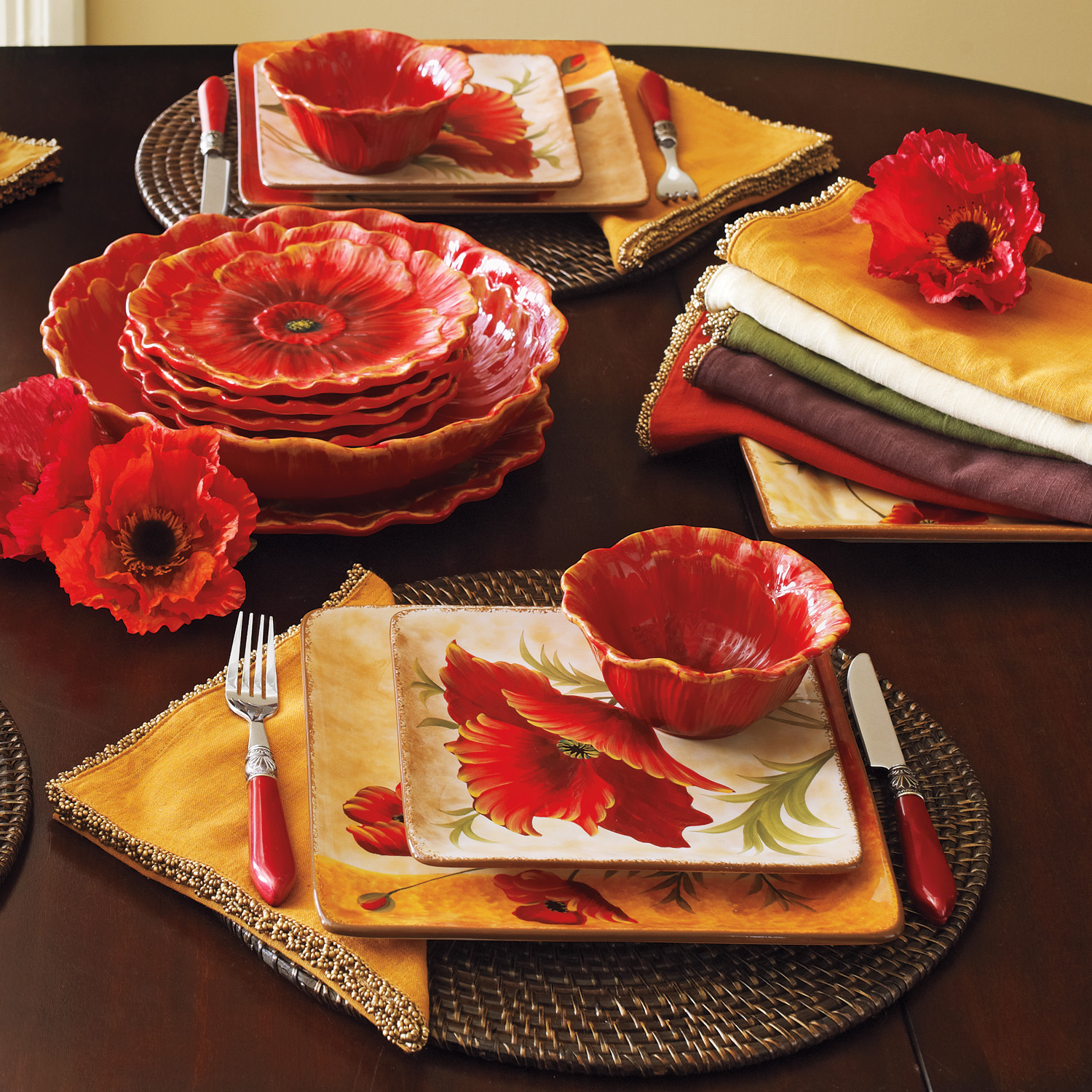 variation thumbnail of Poppies Dessert Plate