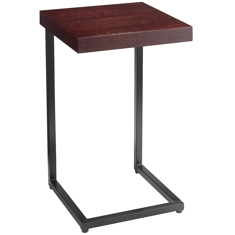 Wood Top Espresso C-Table