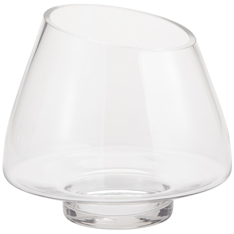 Bowl Shape Glass Vase