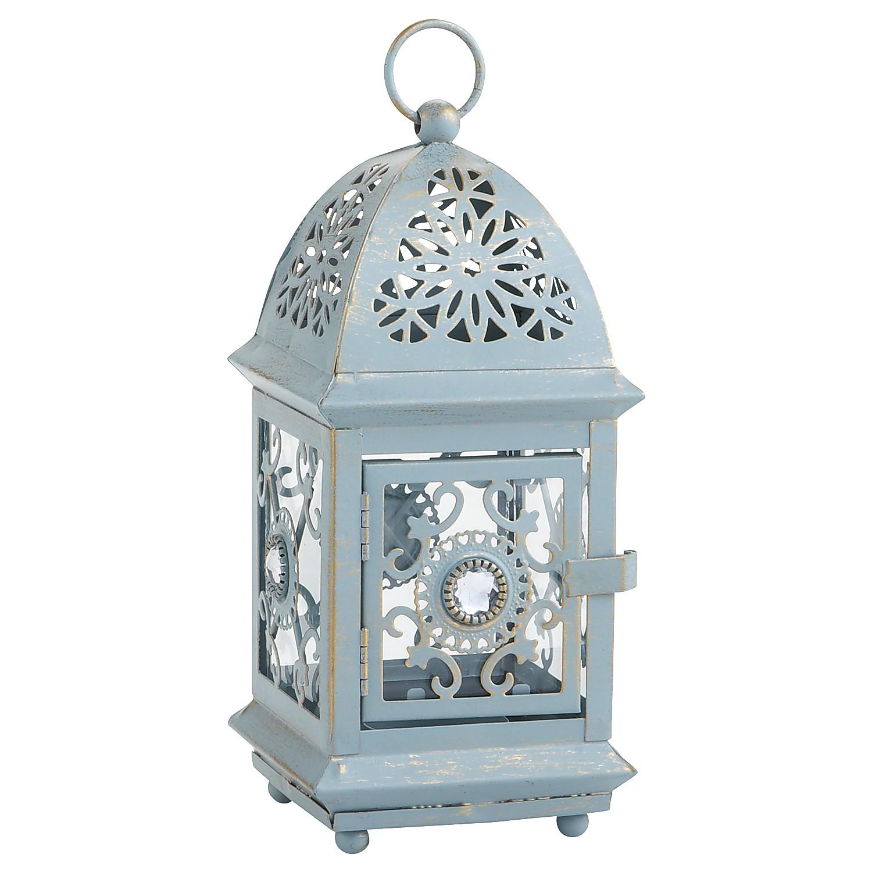 Jeweled Lantern - Blue Mini