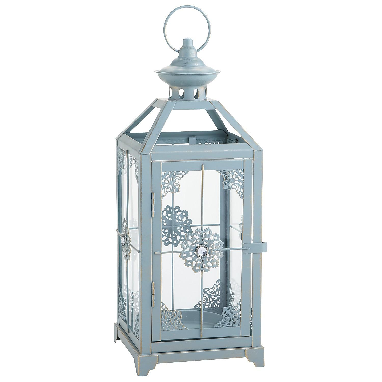 Jeweled Lantern - Blue Medium