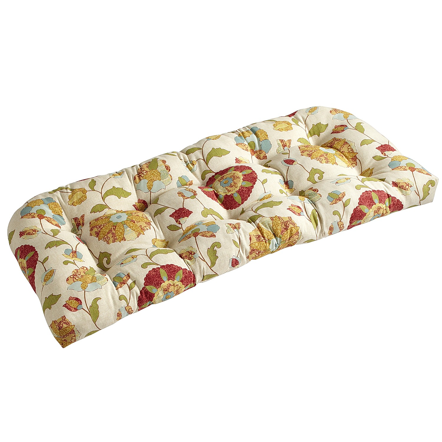 Floral Terrace Settee Cushion