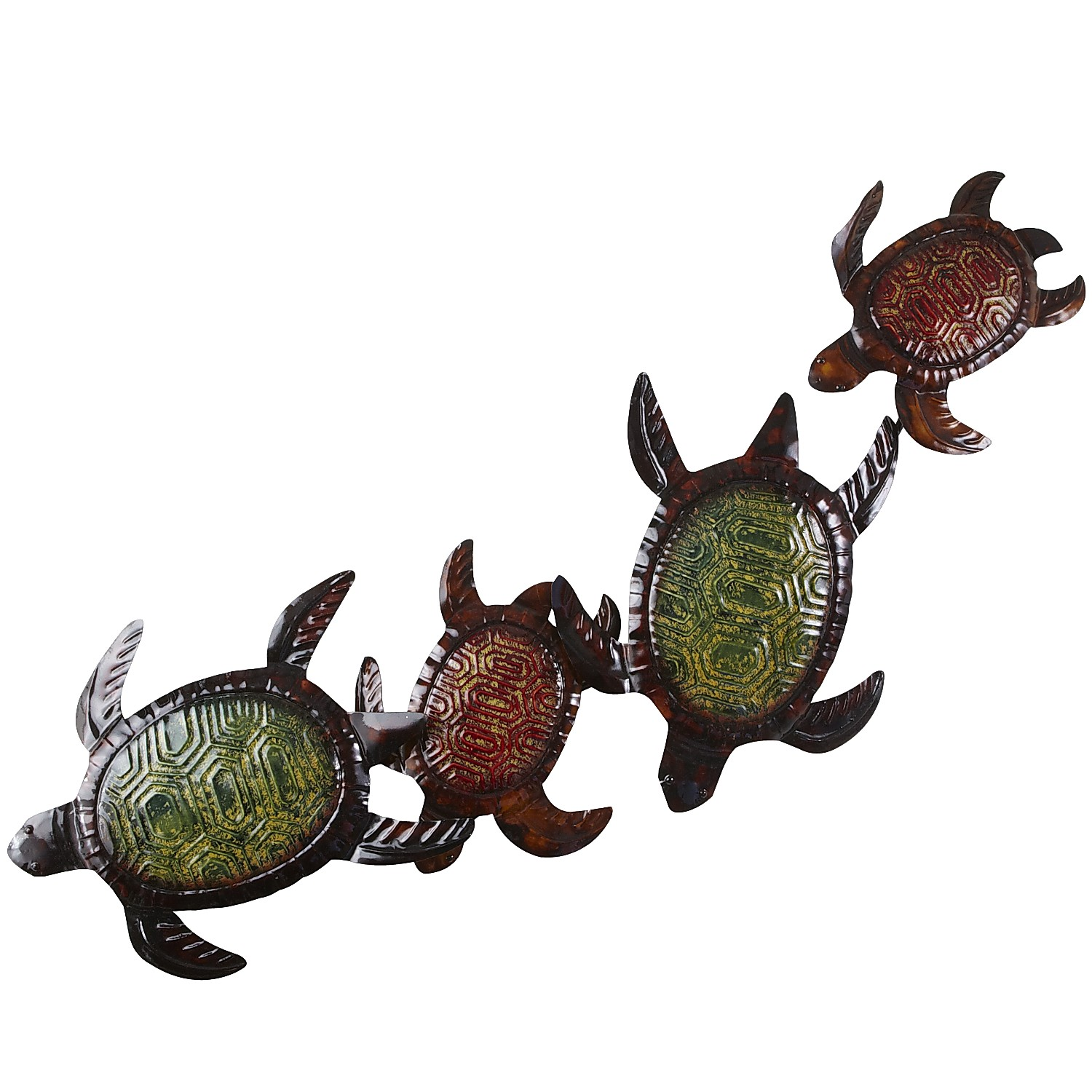 Climbing Turtles Wall Decor