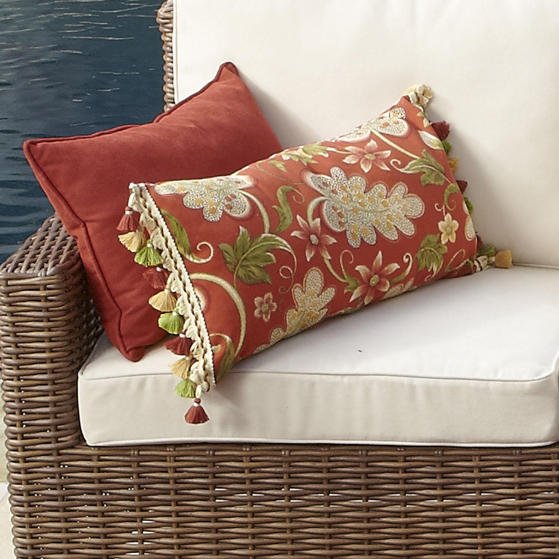 Angelique Spice Lumbar Pillow