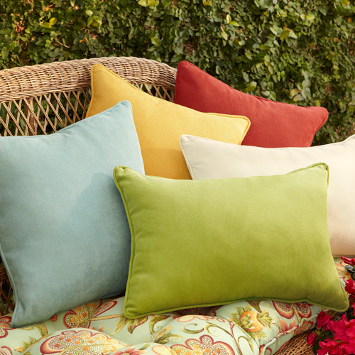 Calliope Lumbar Pillow - Moss