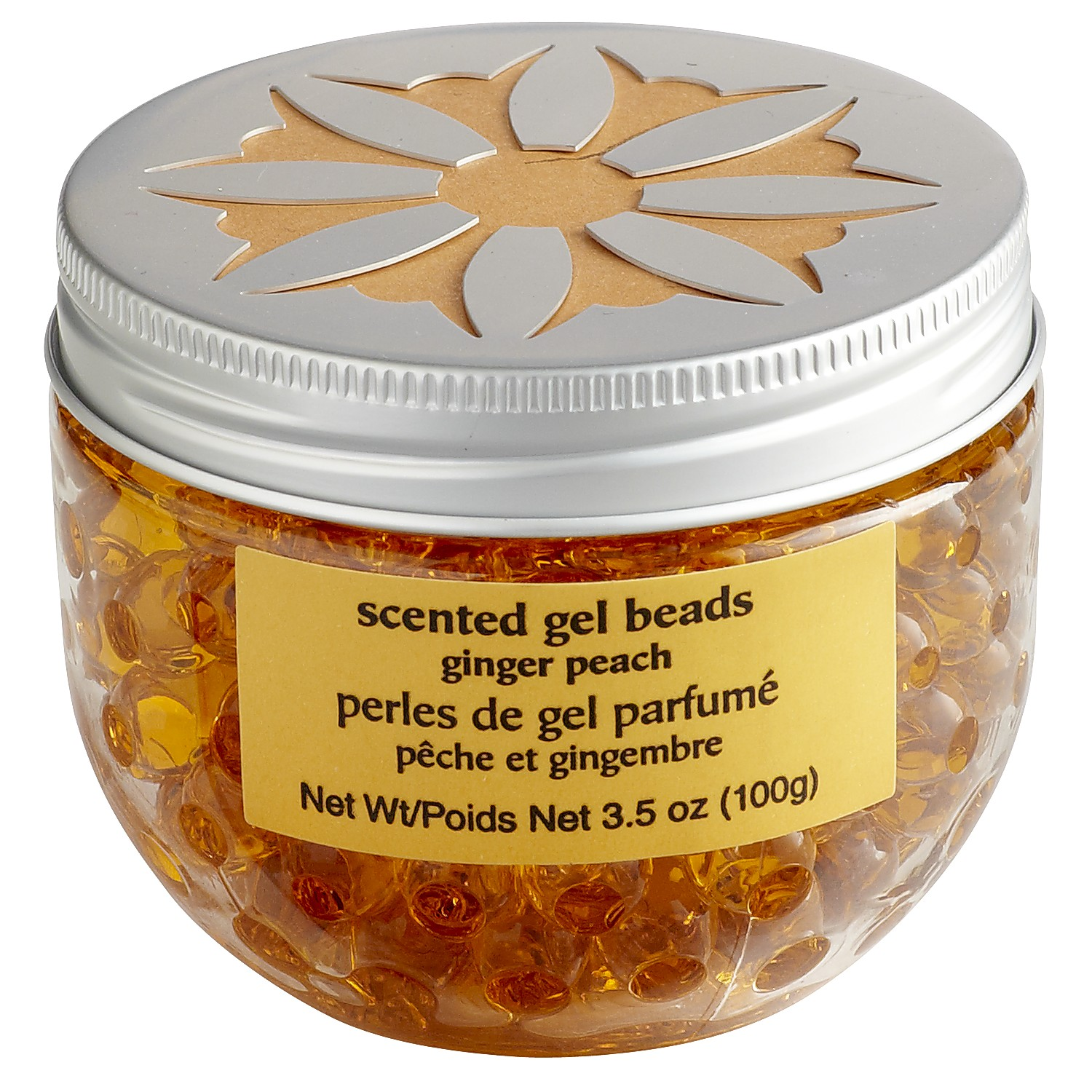 Ginger Peach® Fragrance Bead Jar