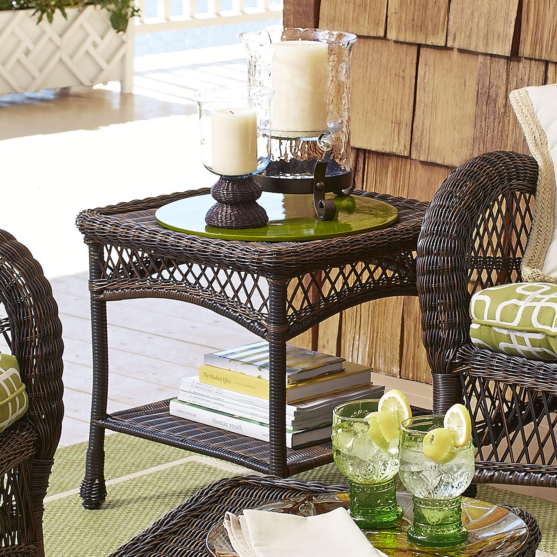 Santa Barbara Mocha End Table