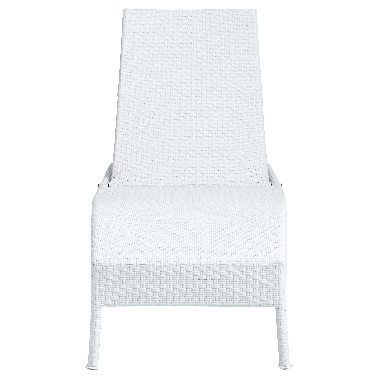 Ciudad Chaise Lounge - White