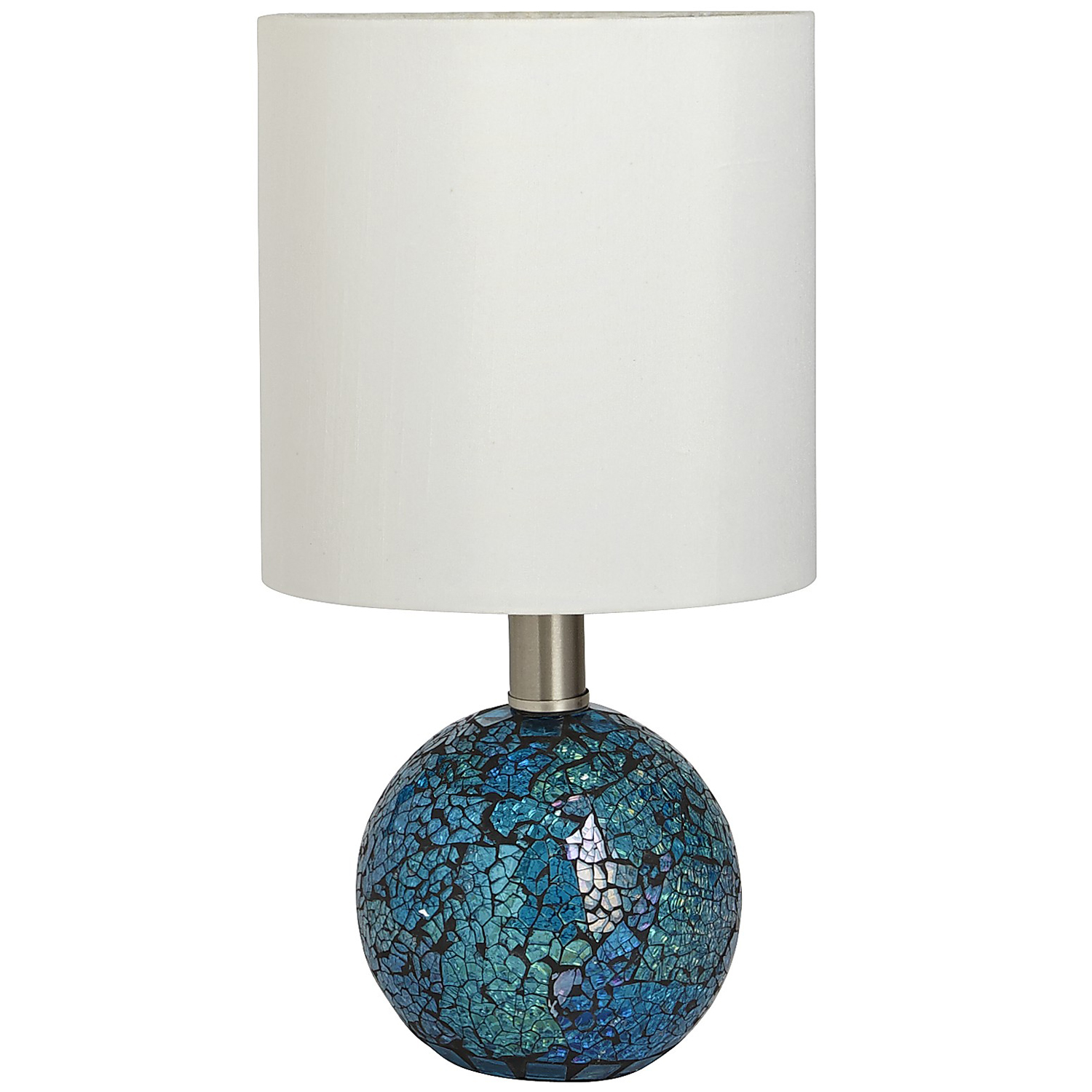 variation thumbnail of Crackle Mini Lamp - Teal