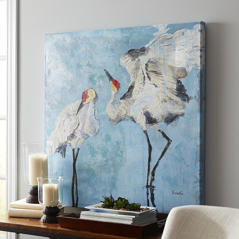Freshwater Cranes Art