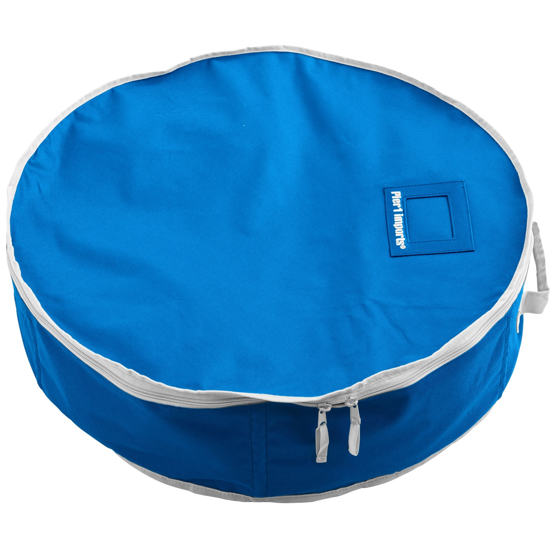 "Wreath Storage Bag - Blue 26"""