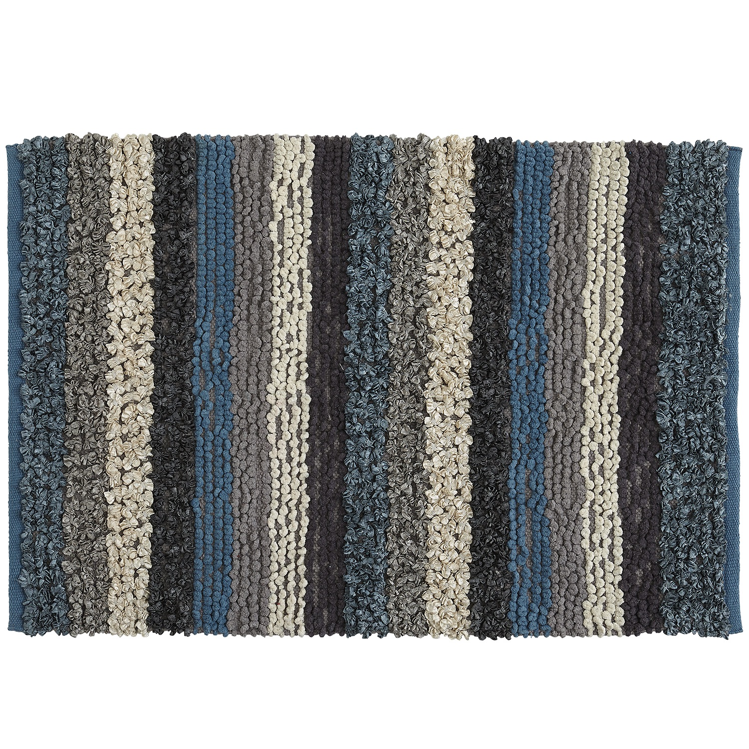 Ribbon Rug - 2x3 Coastal Blue