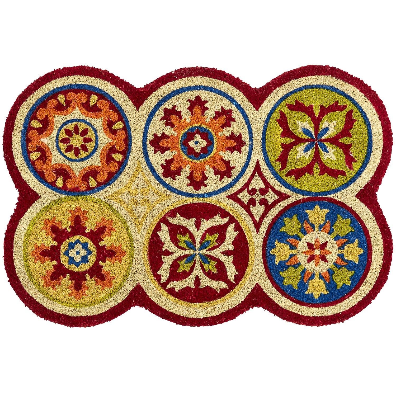 Scallop Medallion Doormat