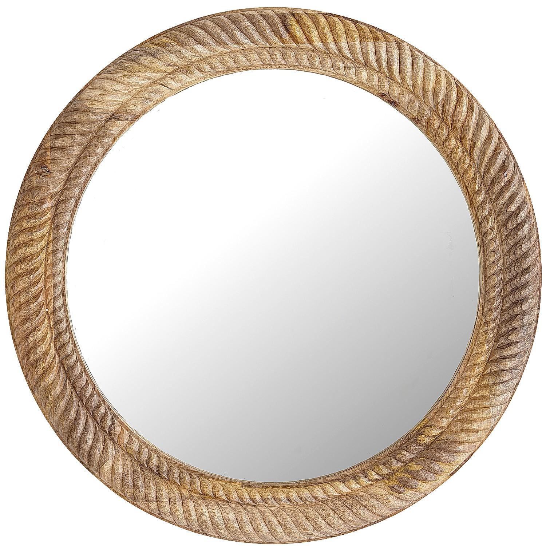 Parker Wooden Mirror