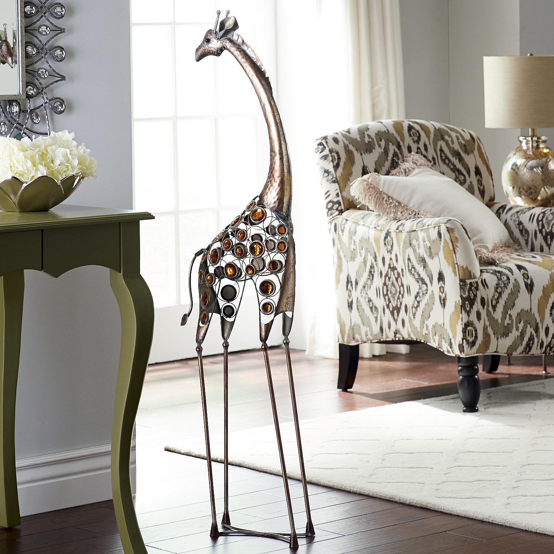 Tall Giraffe with Gems
