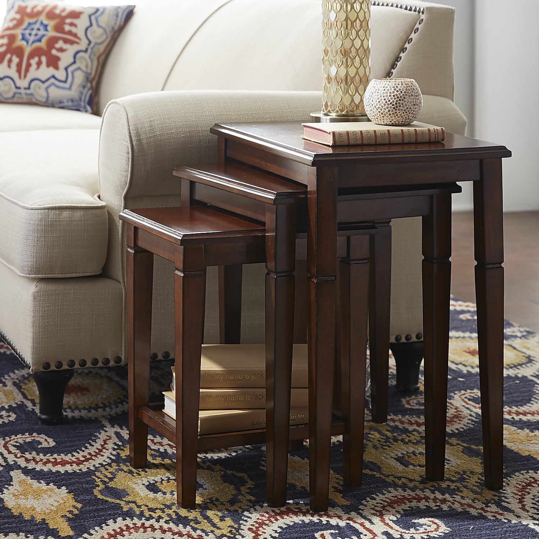 Eaton Tuscan Brown Nesting Tables