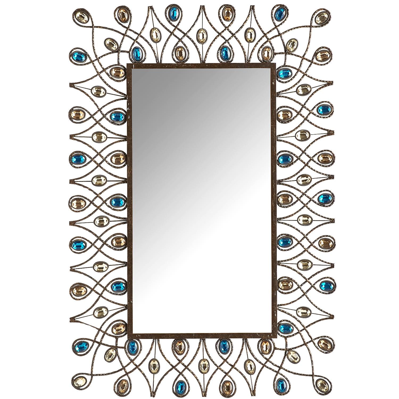 Peacock Stardust Mirror