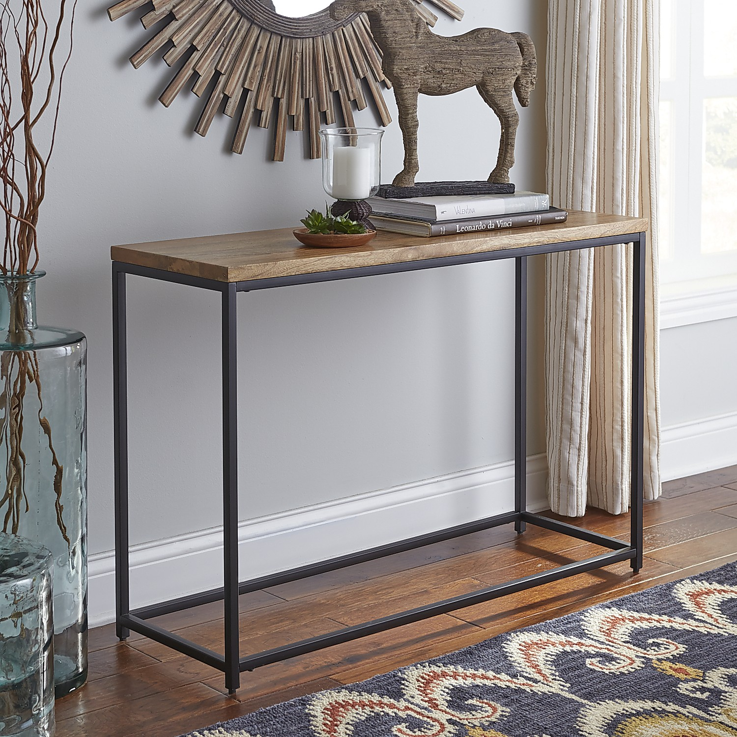 Takat Natural Mango Wood Console Table