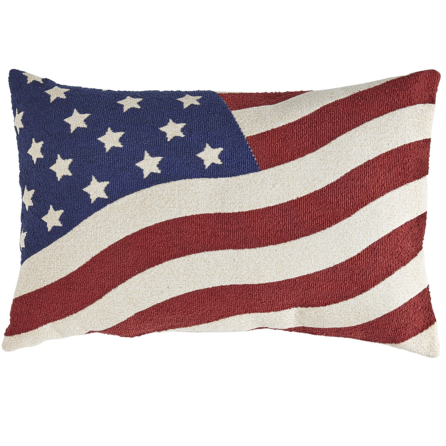 American Flag Tapestry Pillow