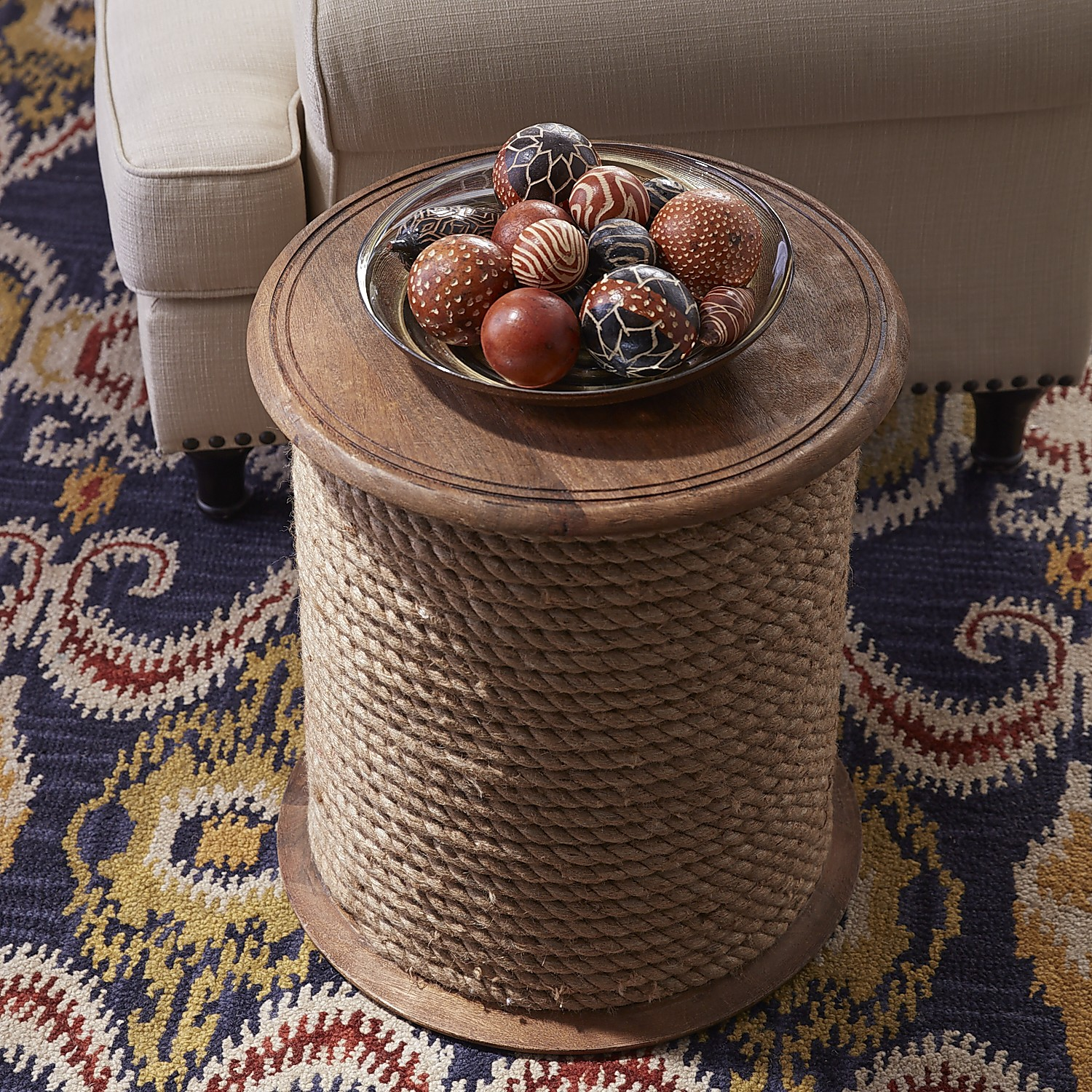 Rope Accent Table
