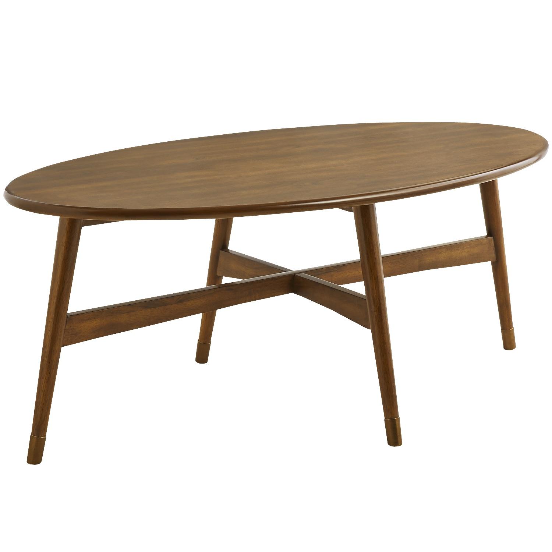 Marcel Pecan Brown Coffee Table