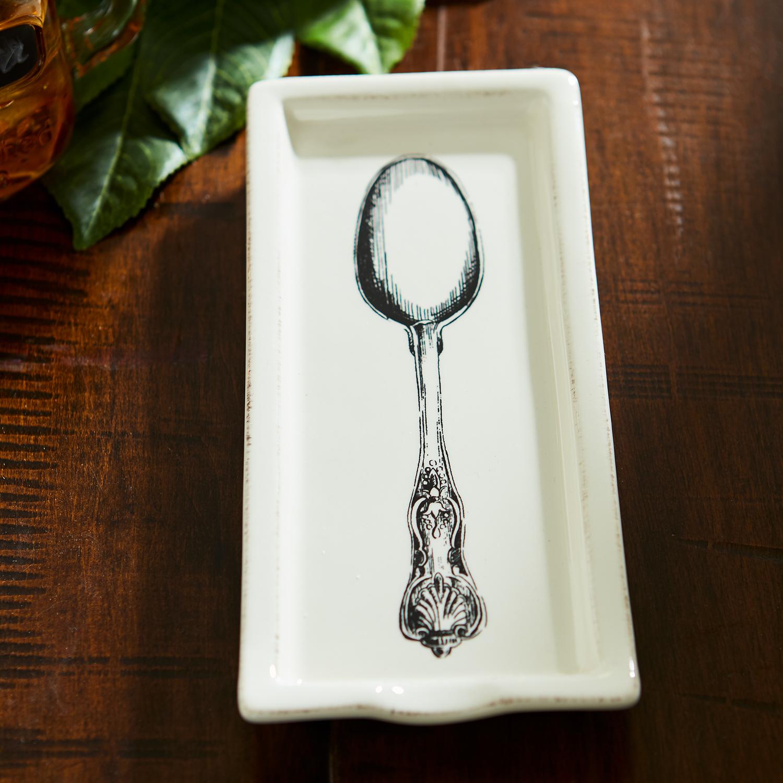 Spoon Silhouette Spoon Rest