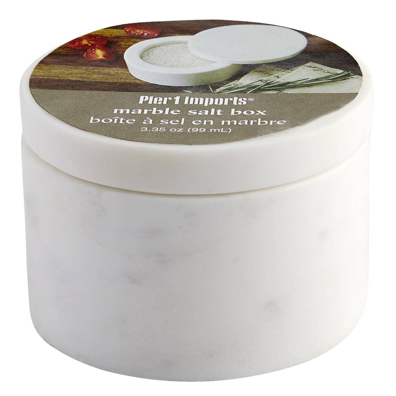 Hudson Marble Salt Box
