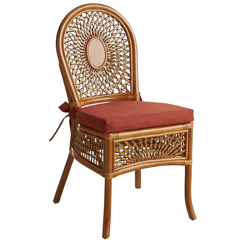 Azteca Dining Chair - Pecan Brown