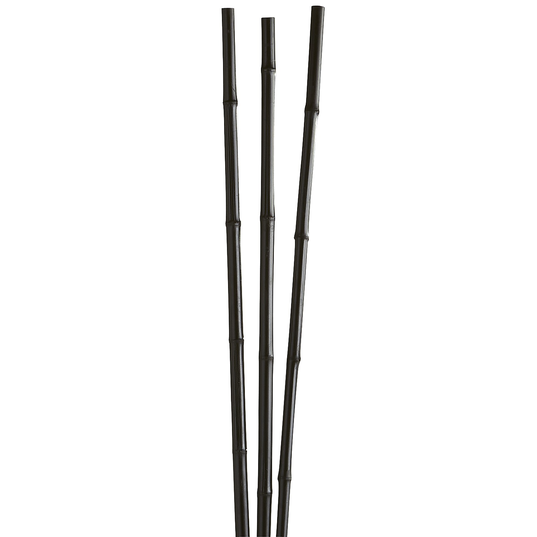 Black Bamboo Pole Set