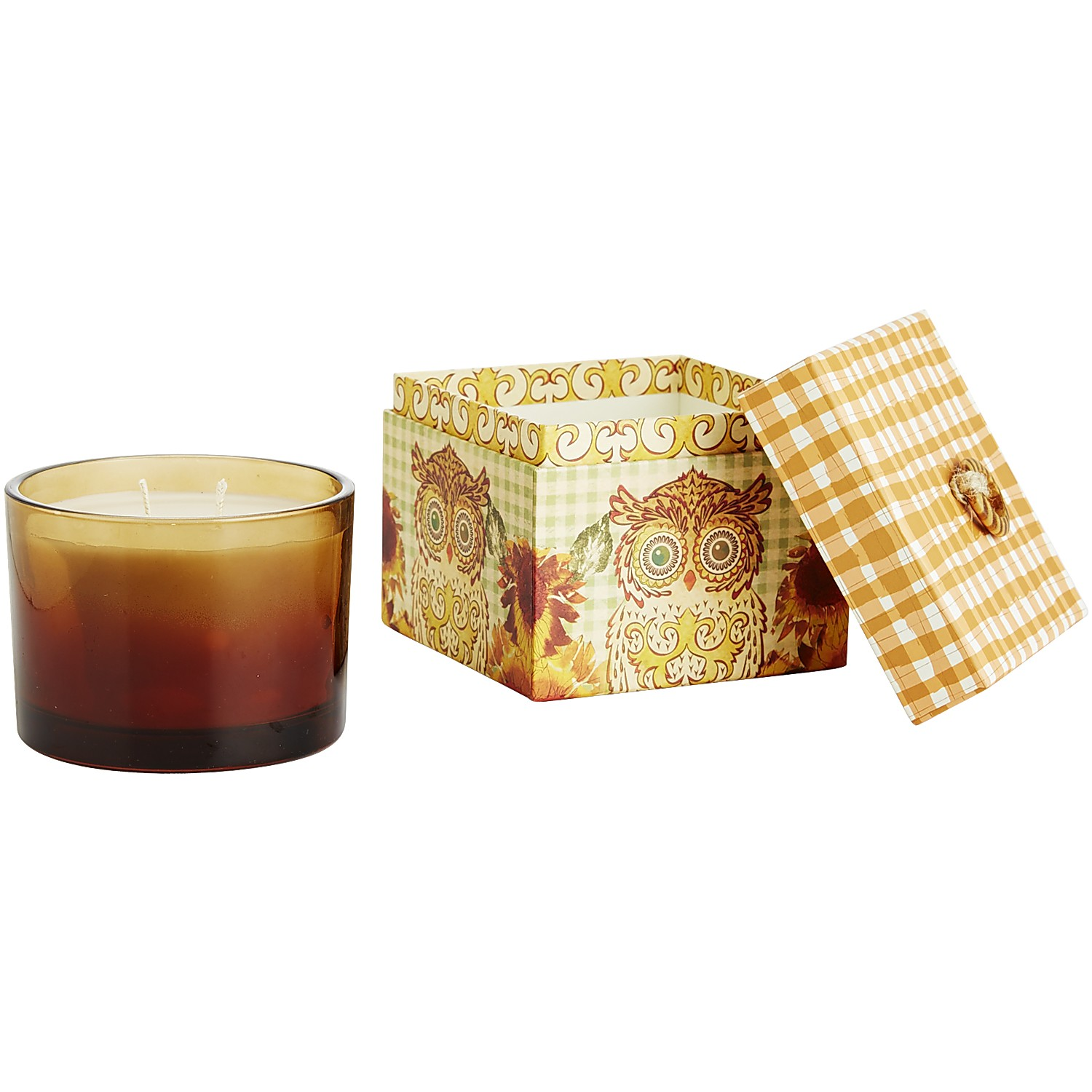 Spiced Cake Box Filled Candle