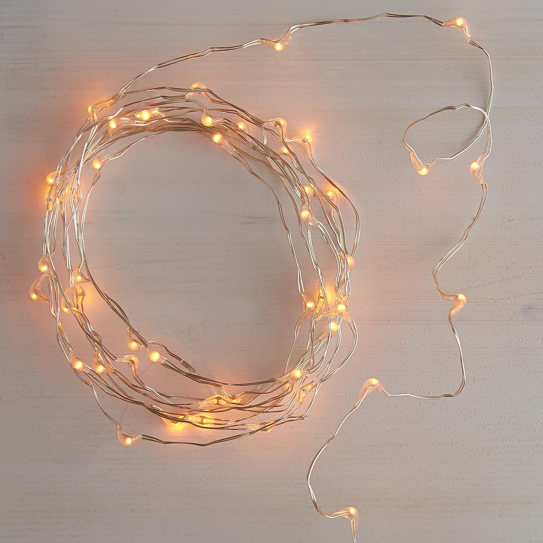 Orange Glimmer Strings® - 10'