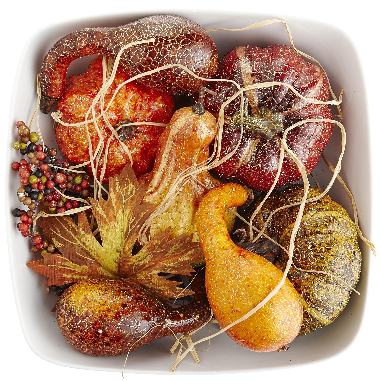Crackle Gourd Bowl Filler