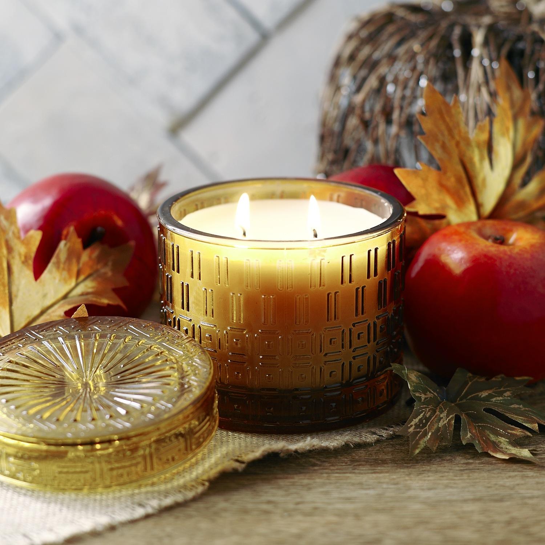 Harvest Apple Filled Candle