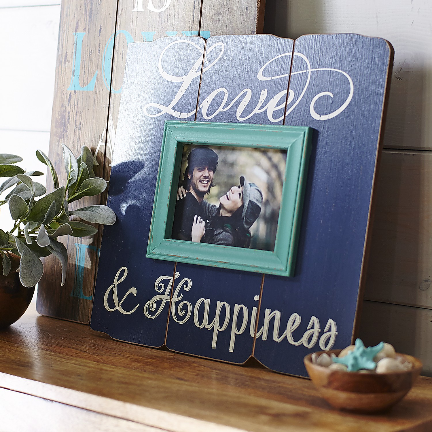 Love & Happiness Frame - 5x7