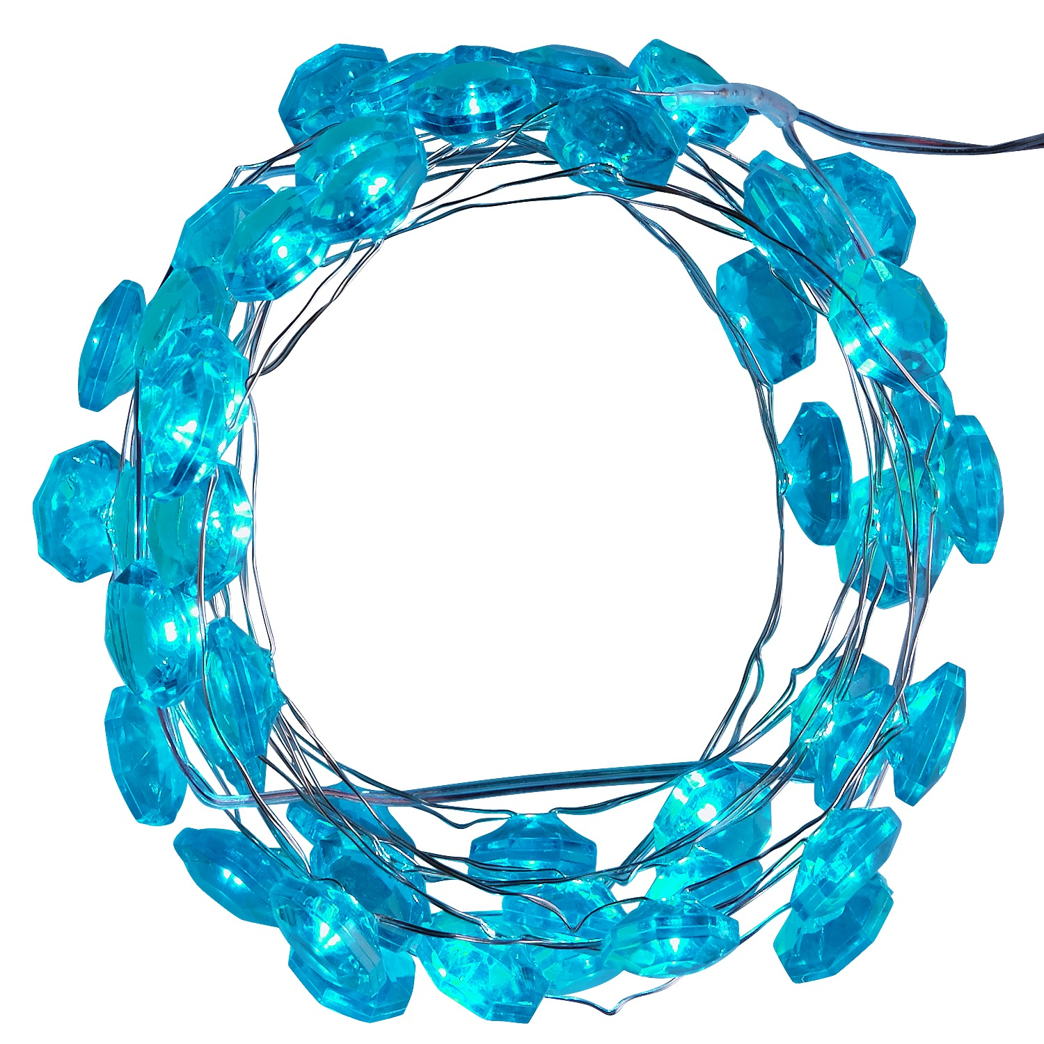 Turquoise Jewel 10' LED Glimmer Strings®