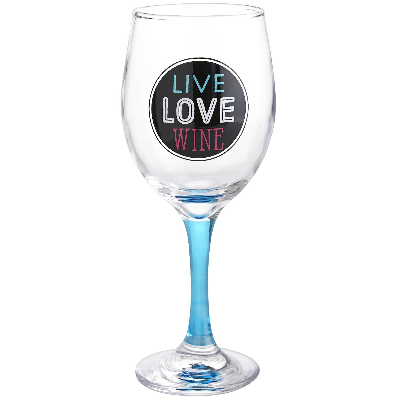Live Love Wine Goblet