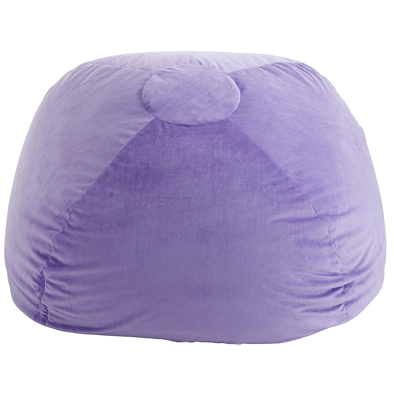Plush Bean Bag - Grape