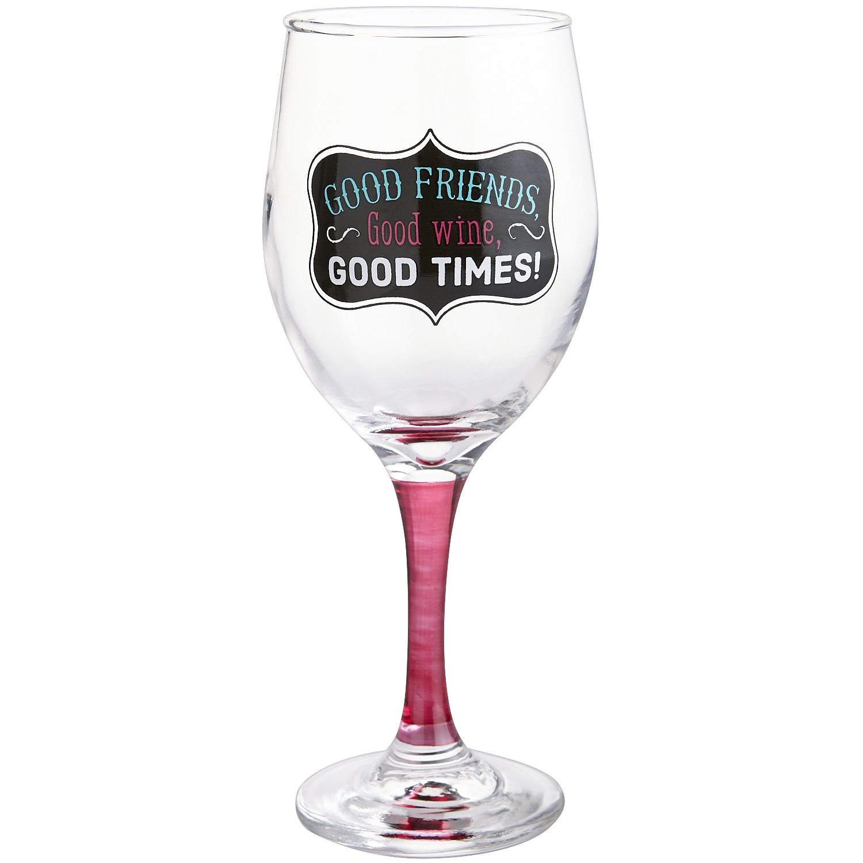 Good Friends Wine Goblet